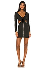 superdown Roza Mini Dress in Black