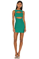 superdown Tami Cut Out Dress in Green