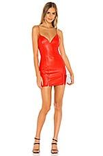 superdown Jessie Zip Dress in Red