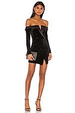 superdown Annina Blazer Dress in Black
