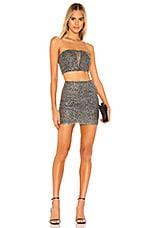 superdown True Skirt Set in Silver