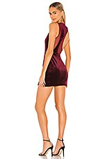 superdown Grazia Scoop Back Dress in Wine