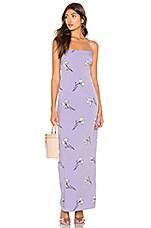 superdown Johanna Maxi Dress in Lavender Floral