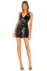 superdown Roxanna Mini Dress in Black