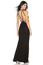 superdown Zeke Strappy Back Maxi Dress in Black