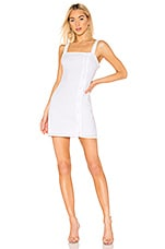 superdown Hailee Button Up Dress in White