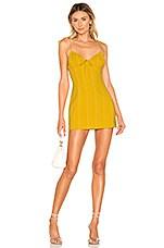 superdown Soleil Tie Strap Dress in Yellow