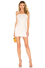 superdown Abbie Mini Dress in White