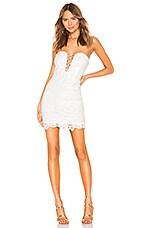 superdown Lillian Lace Dress in White