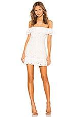 superdown Samantha Lace Dress in White