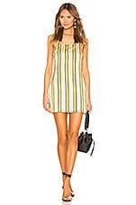 superdown Jules Stripe Cami Dress in Multi Stripe