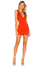 superdown Skye Mini Dress in Red