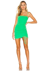 superdown Fabiana Mini Dress in Kelly Green