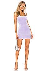 superdown Jenny Square Neck Dress in Lavender