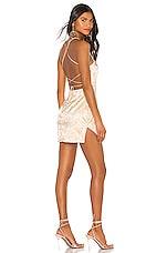 superdown Trisha Mini Dress in Champagne