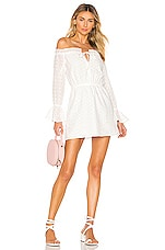 superdown Valeria Flare Dress in White
