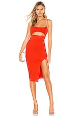 superdown Trista Cut Out Dress in Poppy