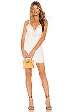 superdown Alexi Eyelet Dress in White