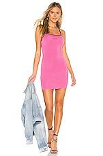superdown Deanna Mini Dress in Pink & Black