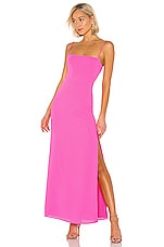 superdown Addison Maxi Dress in Pink