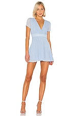 superdown Bree Mini Dress in Light Blue