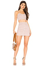 superdown x REVOLVE Page Cami Skirt Set in Blush & White