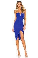 superdown Beatrice Tube Dress in Cobalt