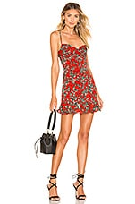 superdown Hadley Cami Dress in Red Floral