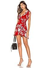 superdown Lorelei Swing Dress in Red Floral