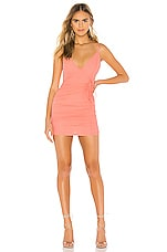superdown Karly Drawstring Dress in Pink