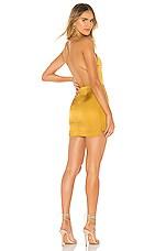 superdown Lola Mini Dress in Gold