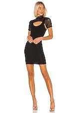 superdown Tavi Mini Bodycon Dress in Black