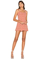 superdown Codie Tie Strap Dress in Rust Floral