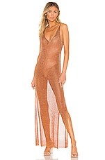 superdown Nia Maxi Dress in Copper