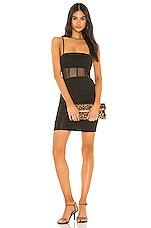 superdown Lindsey Mini Dress in Black