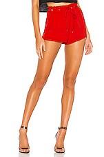 superdown Tiffy Tie Short in Red