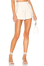 superdown Mia High Waisted Short in Cream
