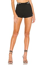 superdown Meadow Hot Short in Black
