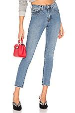 superdown Jackie Skinny Jeans in Vintage Blue Wash