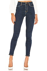 superdown Giselle Skinny Jeans in Dark Blue Wash