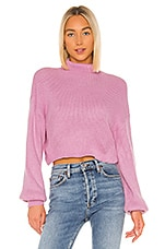 superdown Madison Turtleneck Sweater in Orchid