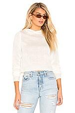 superdown Brianne Hooded Sweater in Cream