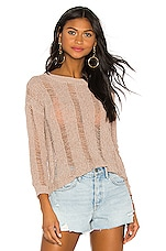 superdown Nancy Knit Sweater in Beige