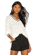 superdown Orla Sweater in White