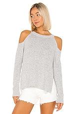 superdown Aldis Cold Shoulder Sweater in Grey