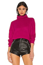 superdown Lira Turtleneck Sweater in Pink