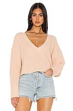 superdown Marlene Crop Sweater in Oatmeal