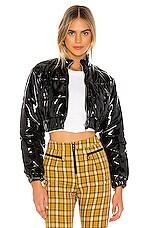 superdown x Draya Michele Metro Girl Jacket in Black