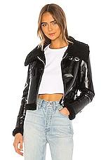 superdown Kimberly Moto Jacket in Black