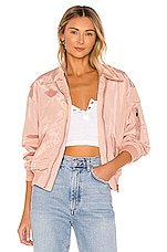 superdown Jayden Bomber Jacket in Rose